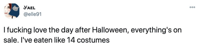 Funny Tweets From Women - costume