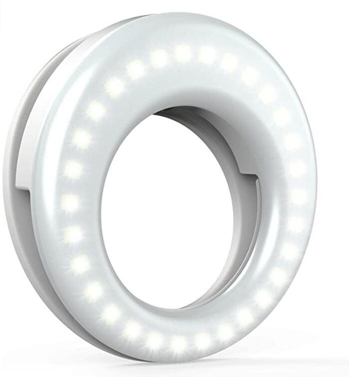 Gifts Under $25 - Selfie Light Ring