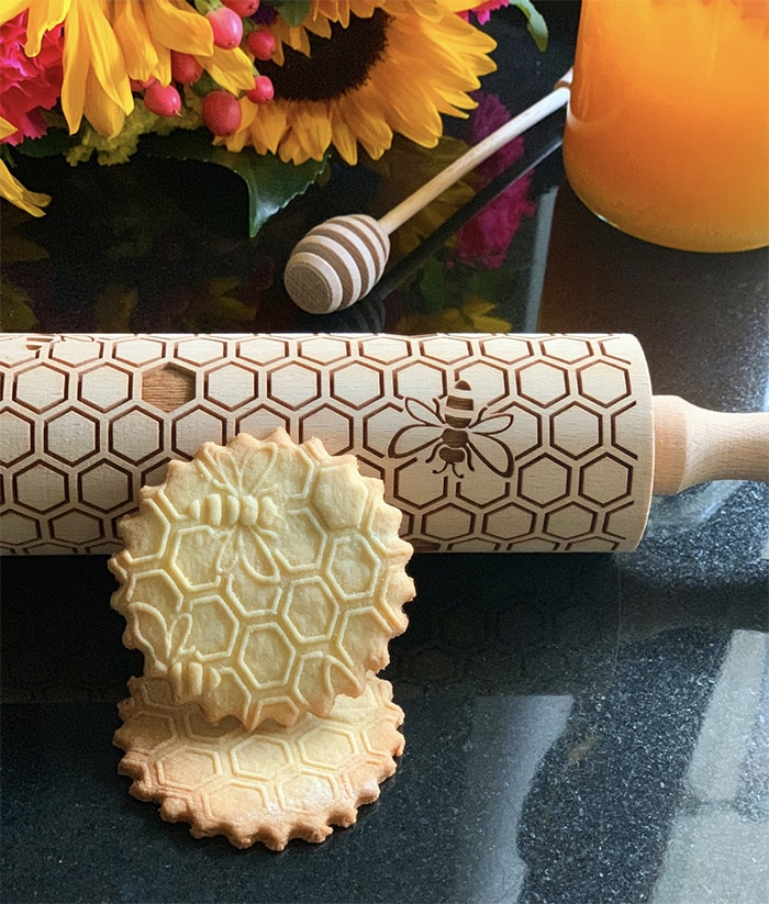 Gifts Under 25 - Honeybee Rolling Pin