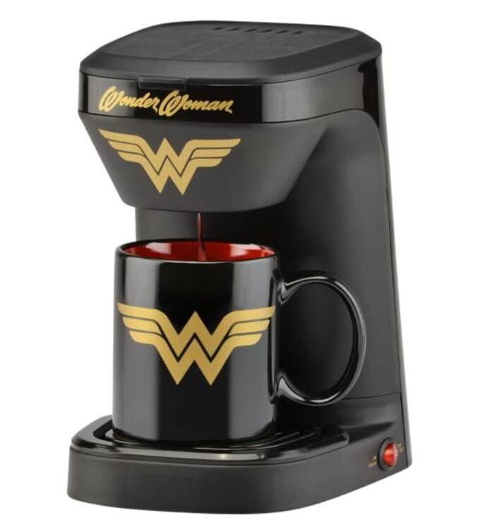 Cheap Gift Ideas - Wonder Women coffee maker