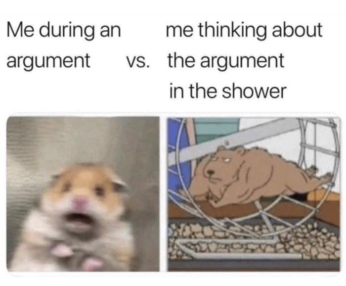 Scared Hamster Argument