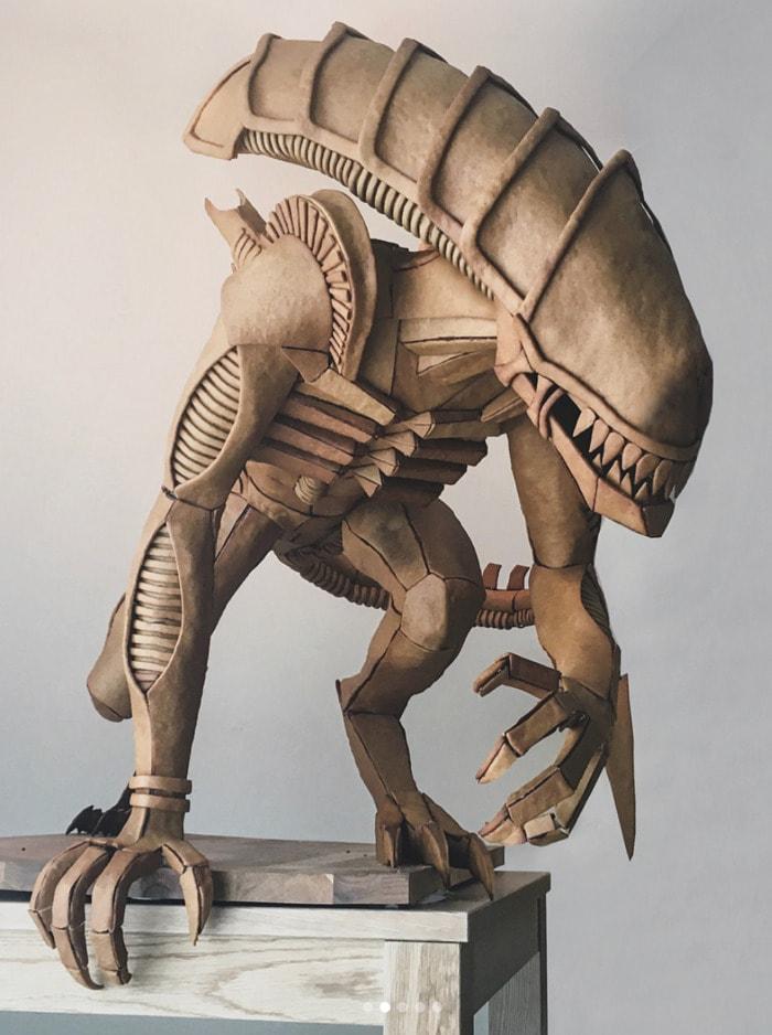 Life Size Gingerbread - Alien Xenomorph
