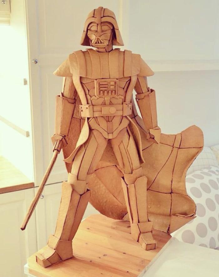 Life Size Gingerbread - Star Wars Darth Vader