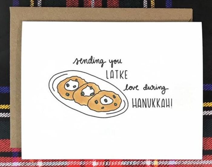 Pancake Puns - Sending you Latke love during Hanukkah