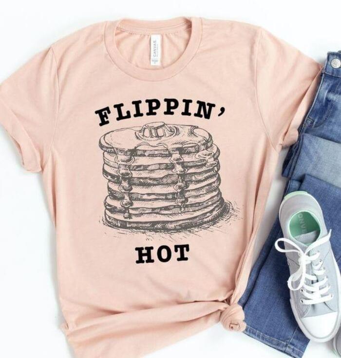 Pancake Puns - Flippin' Hot