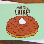 Pancake Puns - I love you a Latke