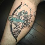Sagittarius Tattoos - Sagittarius with bow and arrow