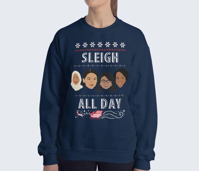 Sleigh Puns - Sleigh all day