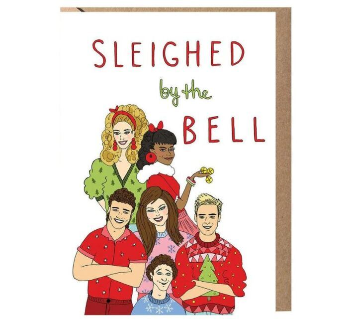 Sleigh Puns - Sleighed by the bell