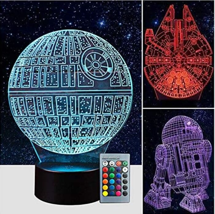 Star Wars Gifts - Death star night light