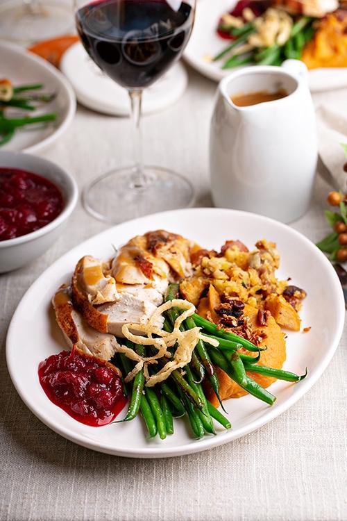 Thanksgiving Jokes - Dinner Plate