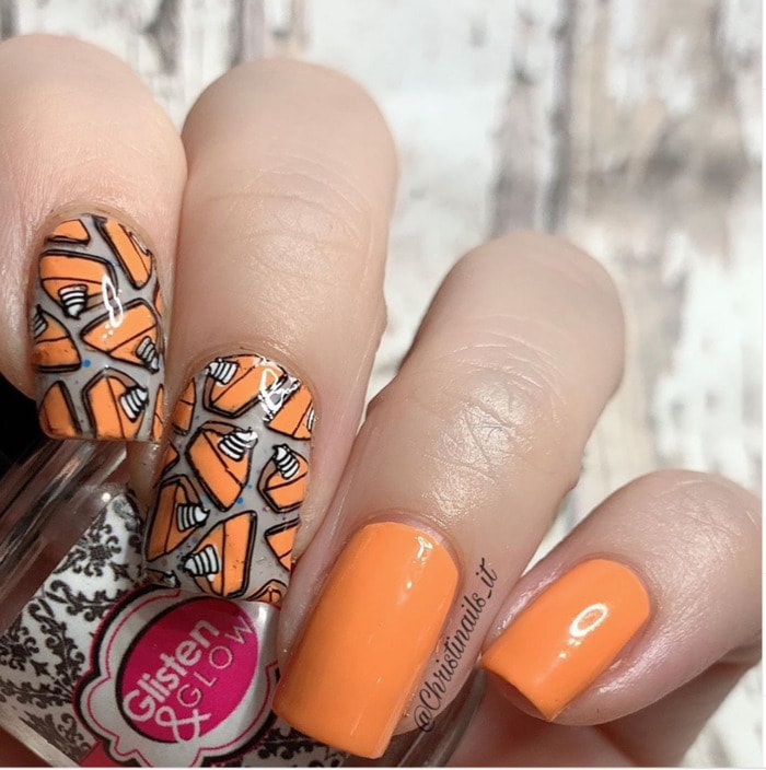 Pumpkin Pie Nails