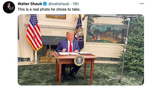 Trump Tiny Desk - photo