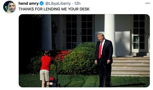 Trump Tiny Desk - Lawnmower
