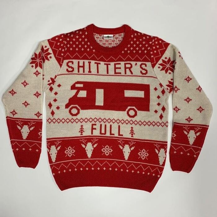 Ugly Christmas Sweaters - Shitters full
