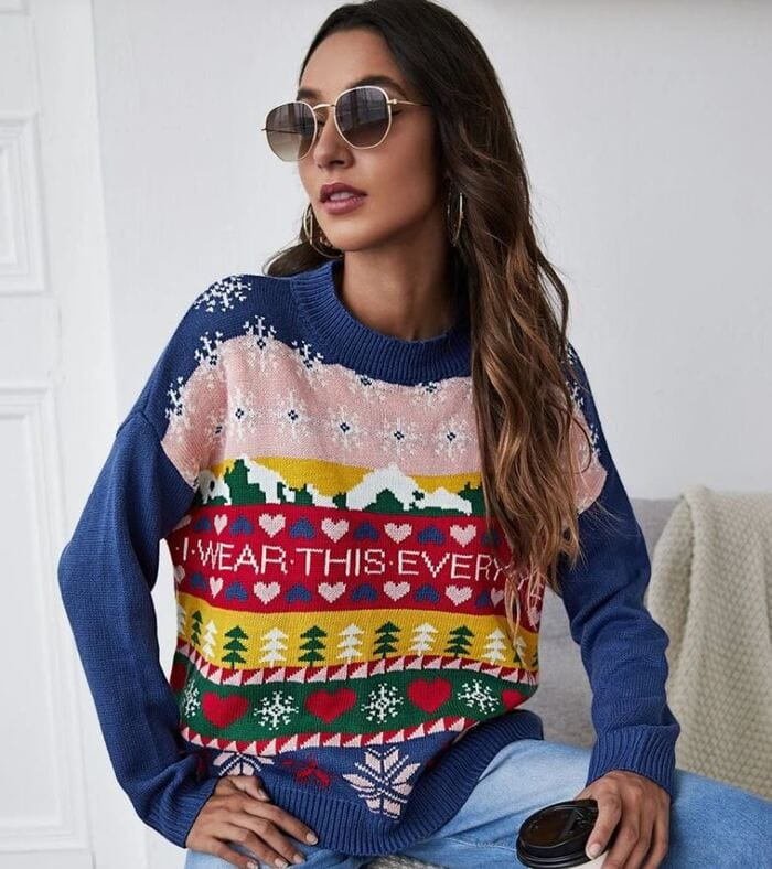 Ugly Christmas Sweaters - I wear this every year sweater