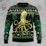 Ugly Christmas Sweaters - Octopus