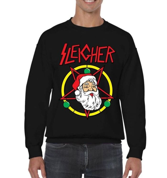 Ugly Christmas Sweaters - Witches Sleigher