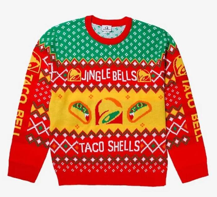 Ugly Christmas Sweaters - Jingle Bells Taco Shells
