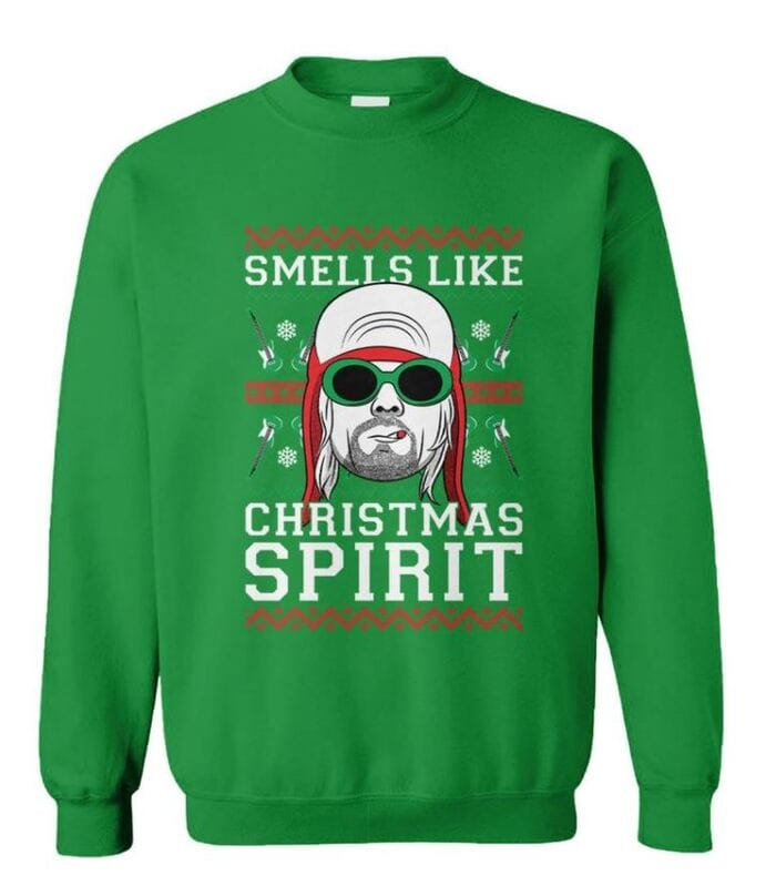 Ugly Christmas Sweaters - Smells like Christmas Spirit