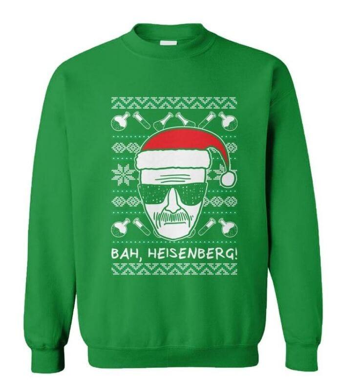 Ugly Christmas Sweaters - Bah, Heisenberg