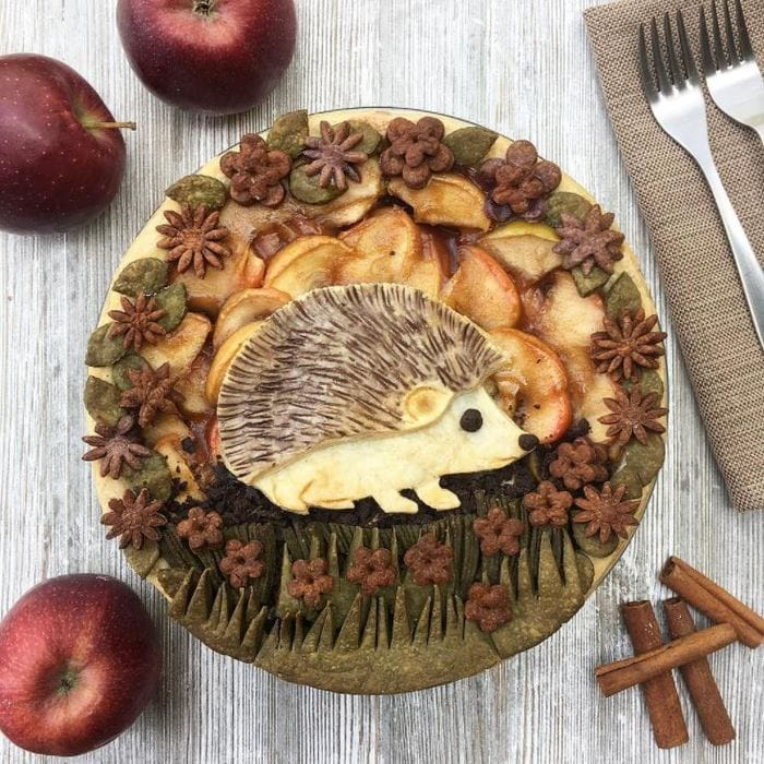 Unique Pies - Hedgehog Pie