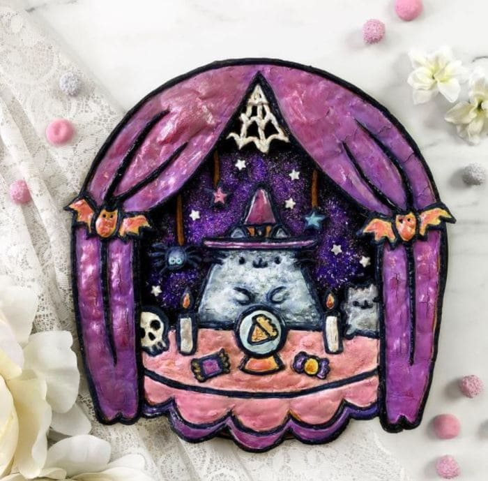 Unique Pies - Witch Pusheen