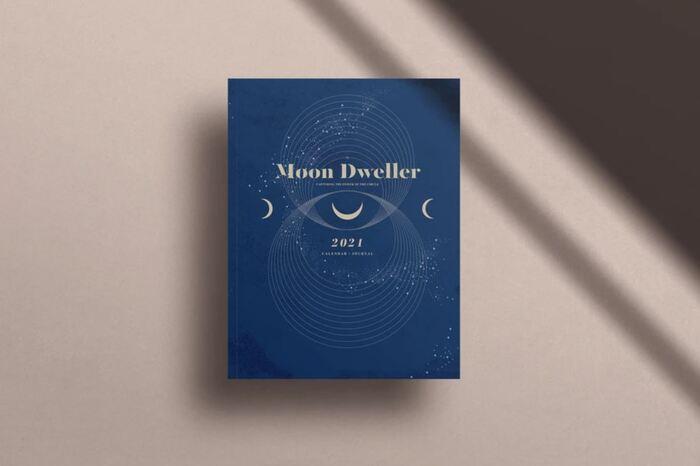 Wellness Gifts - Moon Dweller Calendar Journal