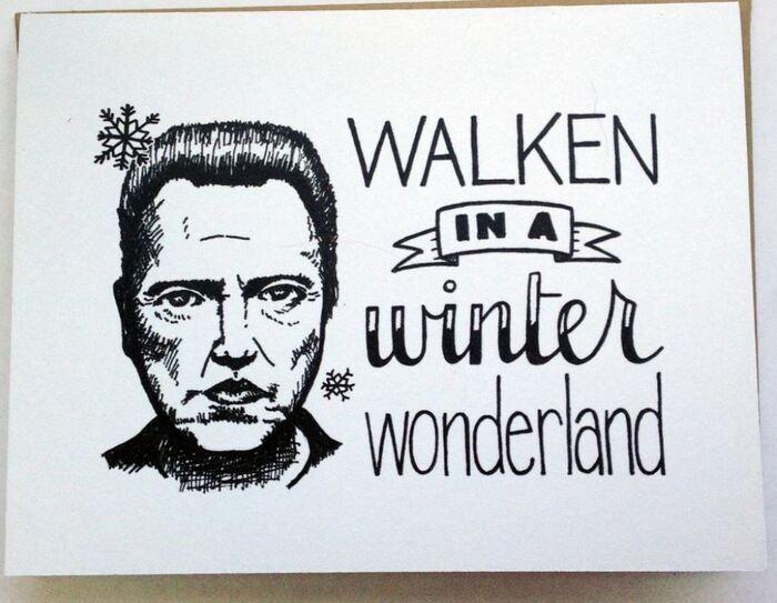 Winter Puns - Walken in a winter wonderland
