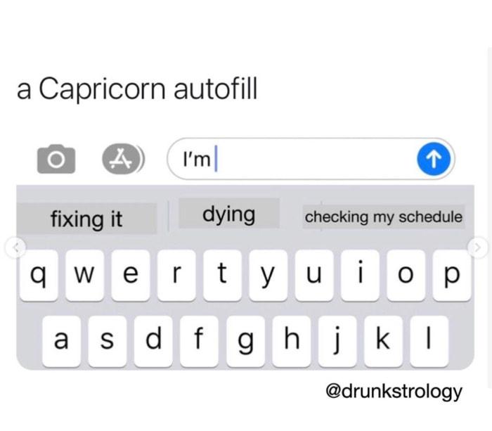 Capricorn autofill