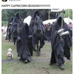 Capricorn Memes - Four Horsemen and a puppy