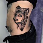 Capricorn Tattoos - horned woman