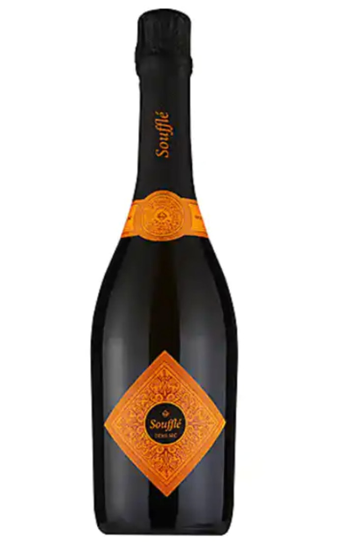 Champagne Sweetness Scale - Soufflè Sparkling Demi Sec