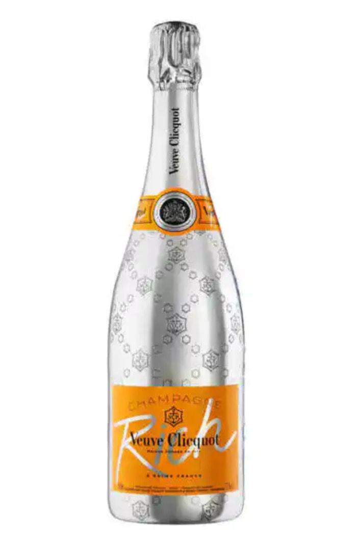 Champagne Sweetness Scale - Veuve Clicquot Rich Champagne