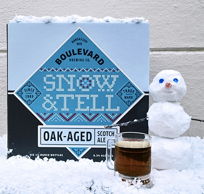 Christmas Beers - Boulevard Snow & Tell