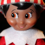 Christmas Captions for Instagram - Elf on the Shelf