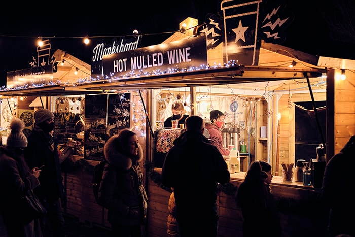 Christmas Captions for Instagram - Mulled Wine Seller