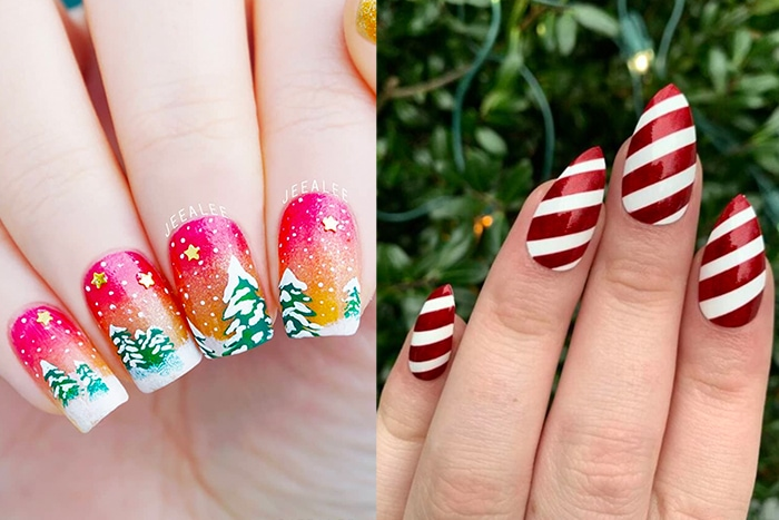 Christmas Nail Designs and Ideas