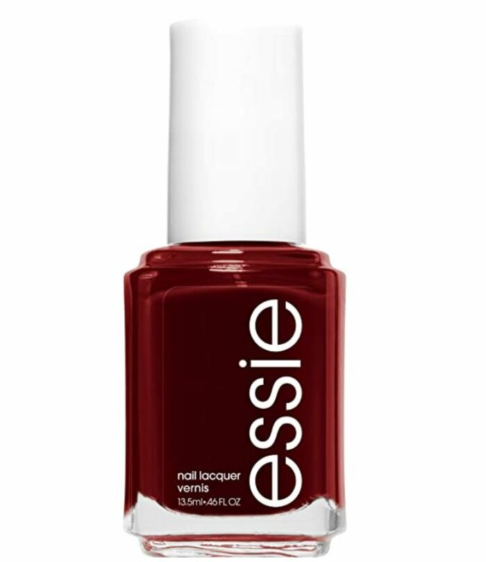 Christmas Nail Colours - essie Nail Lacquer in Bordeaux