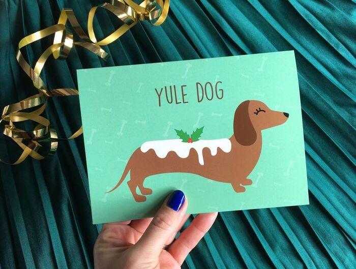 Christmas puns - Yule Dog