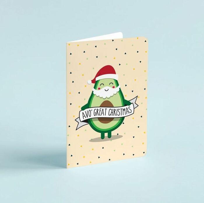 Christmas Puns - Avo' great Christmas