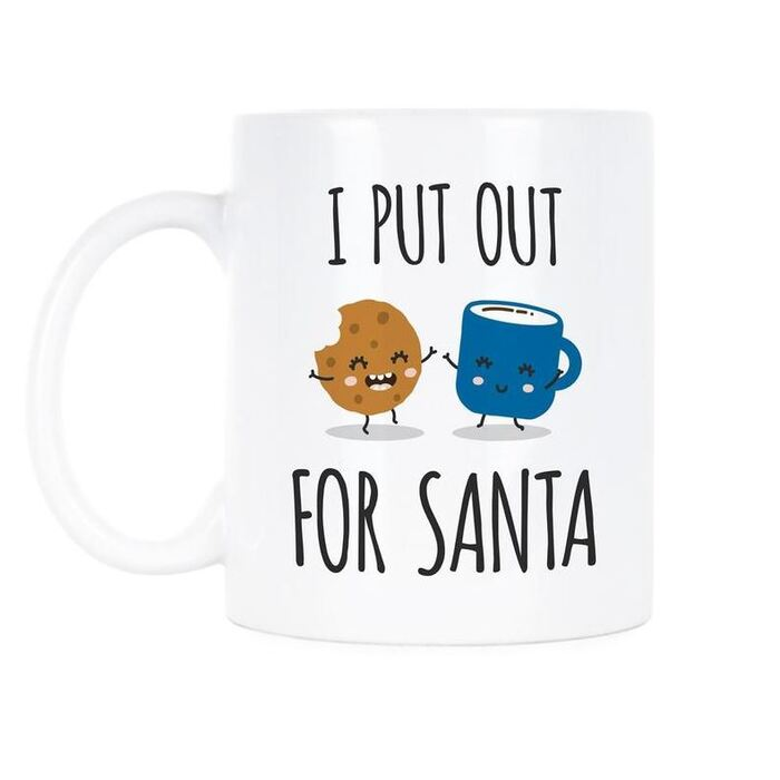 Christmas puns - I put out for Santa milk and cookies