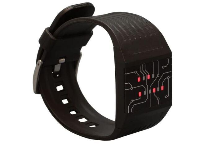 Computer Geek Gifts - Binary Wristwatch