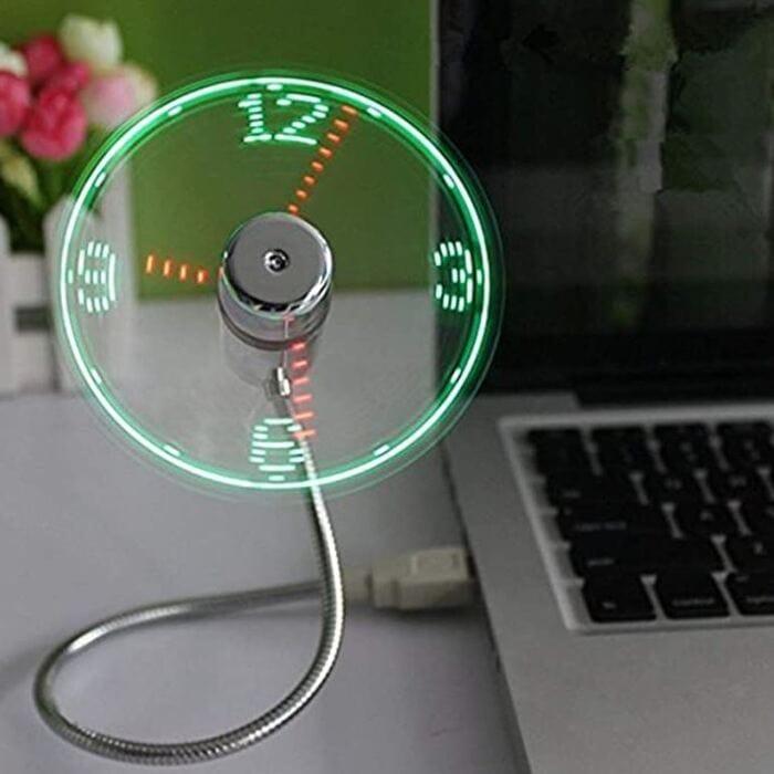 USB Clock and Fan