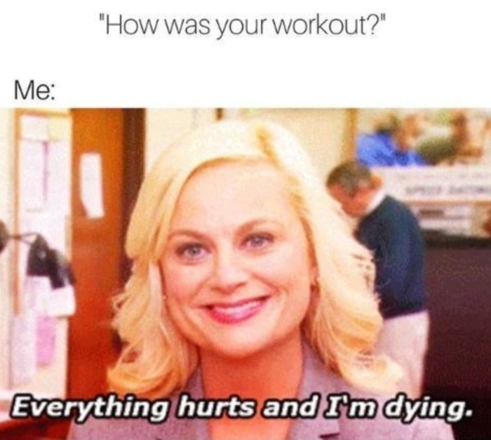 Workout Memes - Parks and Rec
