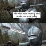Workout Memes - Monty Python Knight