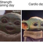 Funny Workout Memes - Baby Yoda
