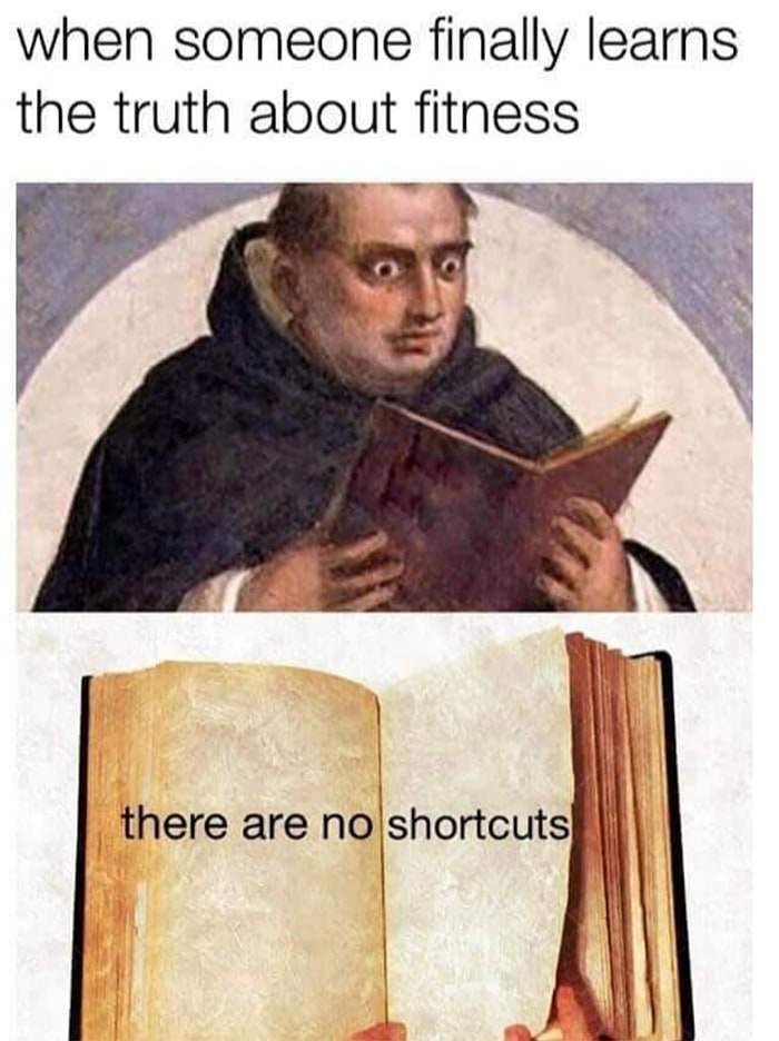 Funny Workout Memes - Monk Reading