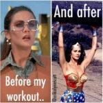 Funny Workout Memes - Wonder Woman