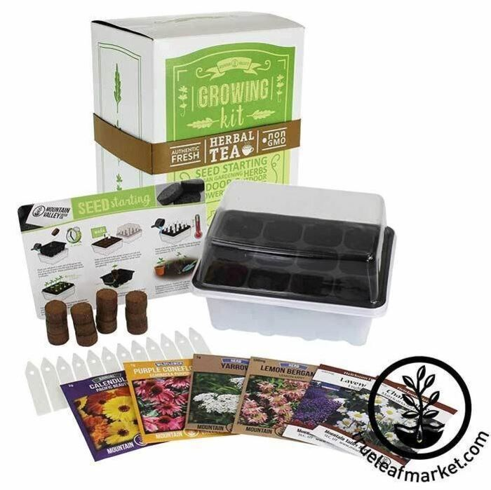 Gifts for nature lovers - Seed Starter Kit for Medicinal and Herbal Tea